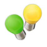 Цветные лампы
