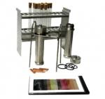 Комплект для испытаний коррозионной активности на медной пластин