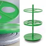 Штатив ПЭ-2940 для 3-ох цилиндрических делительных воронок 500мл
